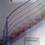Escalier acier bois 8