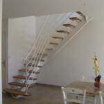 Escalier acier bois 13