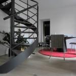 Escalier acier bois 11